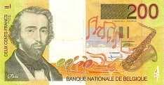 Бельгия: 200 франков (1995 г.)