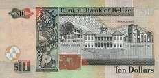 Белиз: 10 долларов 2003-16 г.