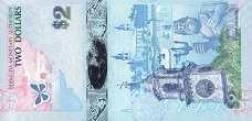 Бермуды: 2 доллара 2009 г.