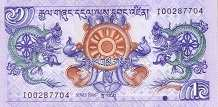 Бутан: 1 нгултрум 2006 г.