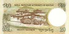 Бутан: 20 нгултрумов 2006 г.