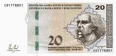 Босния и Герцеговина (Серб.): 20 марок 2012 г.