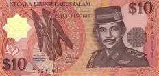 Бруней: 10 долларов 1996 г.