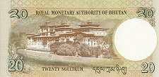Бутан: 20 нгултрумов 2006-13 г.