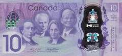 Канада: 10 долларов 2017 г. (юбилейная)
