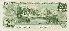 Канада: 20 долларов 1979 г.
