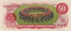 Канада: 50 долларов 1975 г.