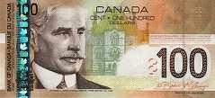Канада: 100 долларов 2003-09 г.