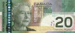 Канада: 20 долларов 2004-11 г.