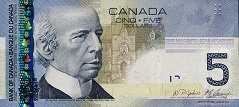 Канада: 5 долларов 2006-11 г.