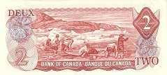 Канада: 2 доллара 1974 г.