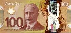 Канада: 100 долларов 2011 г.