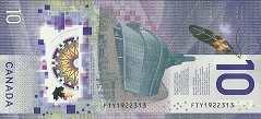 Канада: 10 долларов 2018 г. (юбилейная)