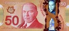 Канада: 50 долларов 2012 г.