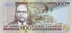 Восточные Карибы: 100 долларов (2008 г.)