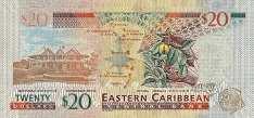 Восточные Карибы: 20 долларов (2012 г.)