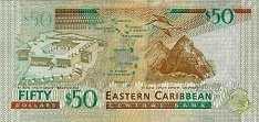 Восточные Карибы: 50 долларов (2012 г.)