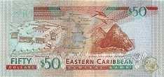 Восточные Карибы: 50 долларов (2008 г.)