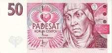 Чехия: 50 крон 1994 г.