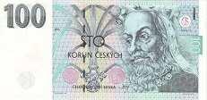 Чехия: 100 крон 1995 г.