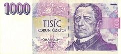 Чехия: 1000 крон 1993 г.