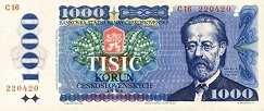 Чехословакия: 1000 крон 1985 г.