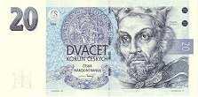 Чехия: 20 крон 1994 г.