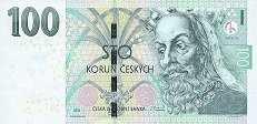 Чехия: 100 крон 2018 г.