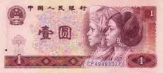 Китай: 1 юань 1980 г.