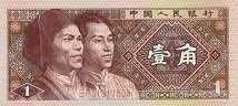 Китай: 1 джиао 1980 г.