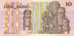 Острова Кука: 10 долларов (1987 г.)