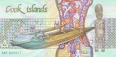 Острова Кука: 3 доллара (1987 г.)