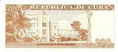Куба: 200 песо 2010 г.