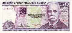 Куба: 50 песо 2002-16 г.
