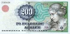 Дания: 200 крон (1997-2000 г.)