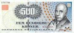 Дания: 500 крон (1997-2003 г.)