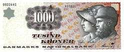Дания: 1000 крон (1998 г.)