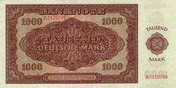 ГДР: 1000 марок 1948 г.