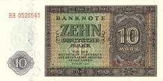 ГДР: 10 марок 1948 г.