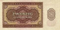 ГДР: 20 марок 1948 г.