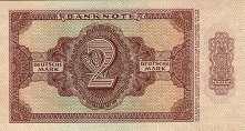 ГДР: 2 марки 1948 г.