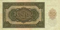 ГДР: 50 марок 1948 г.