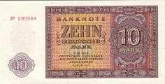 ГДР: 10 марок 1955 г.