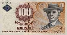 Дания: 100 крон (2004-08 г.)