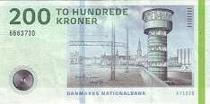 Дания: 200 крон 2010-13 г.