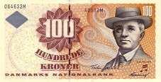 Дания: 100 крон (1997-2003 г.)