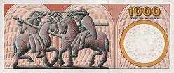 Дания: 1000 крон (2004-08 г.)