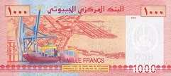 Джибути: 1000 франков 2005 г.