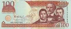 Доминиканская Респ.: 100 песо 2006-10 г.