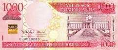 Доминиканская Респ.: 1000 песо 2011-13 г.
